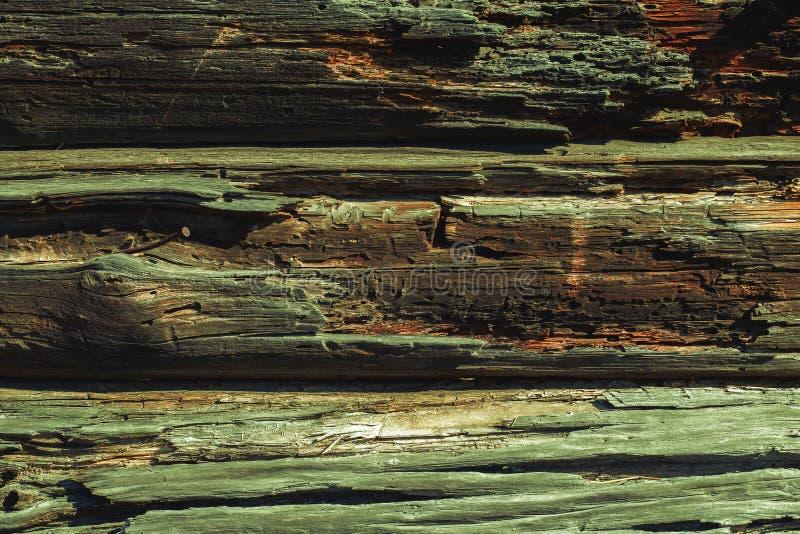 Vecchia struttura di legno di lerciume immagine stock libera da diritti