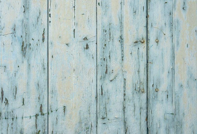 Vecchia struttura di legno di lerciume, fondo di legno blu immagini stock