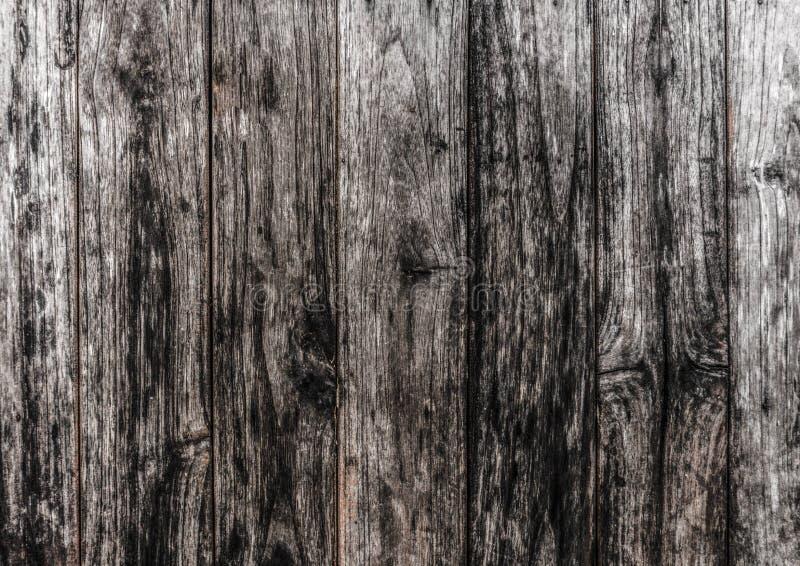 Vecchia struttura di legno nera per fondo fotografie stock