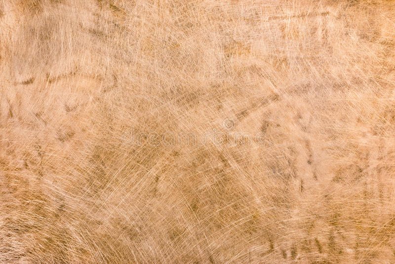 Vecchia struttura di piastra metallica di rame grungy graffiata e macchiata fotografia stock libera da diritti