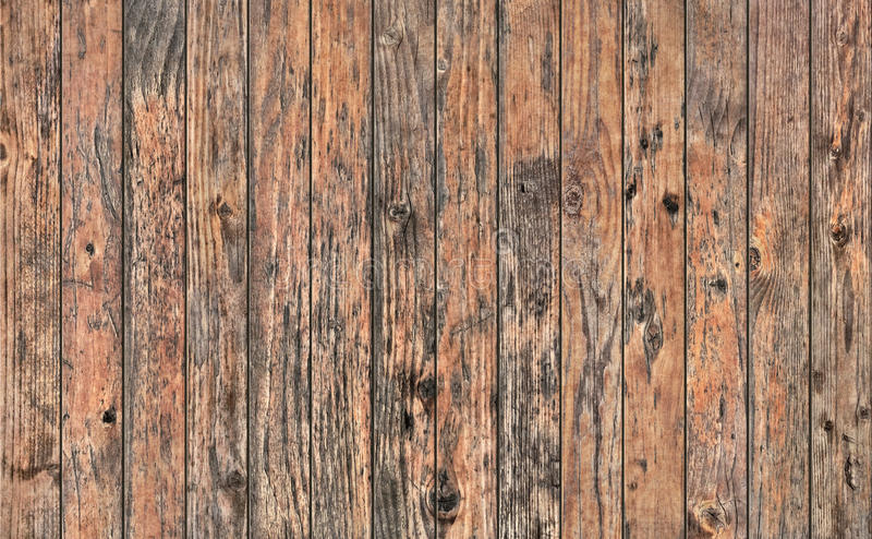 Vecchia struttura grezza annodata rustica stagionata di lerciume del tavolato di legno di pino immagini stock libere da diritti