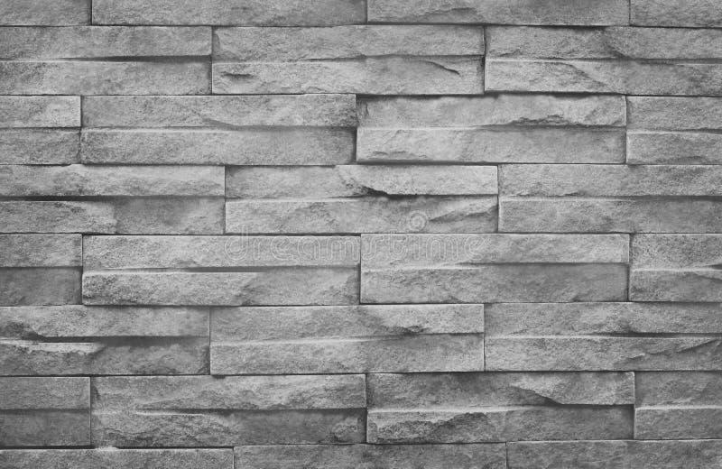 Vecchia struttura grungy, muro di mattoni grigio con il modello d'annata di stile fotografie stock