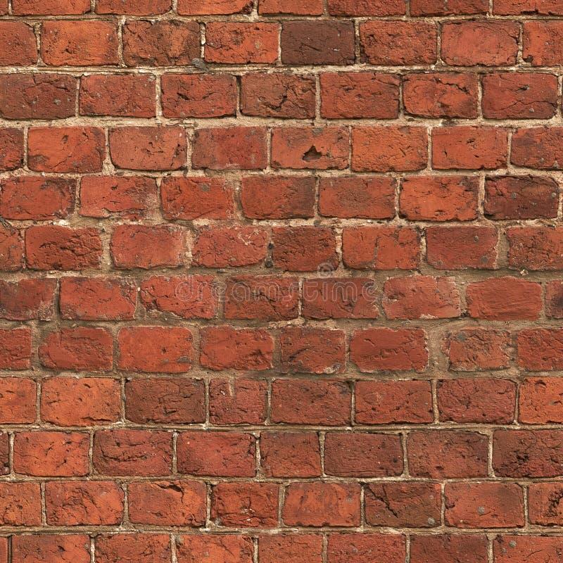 Vecchia struttura rossa del muro di mattoni immagine stock libera da diritti