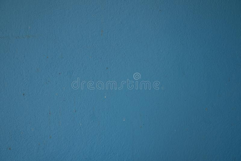 Vecchia superficie della parete blu-chiaro immagini stock libere da diritti