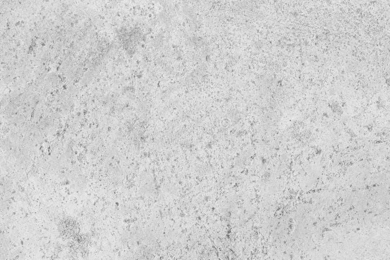 Vecchia superficie di calcestruzzo bianca del fondo approssimativo di struttura immagine stock libera da diritti