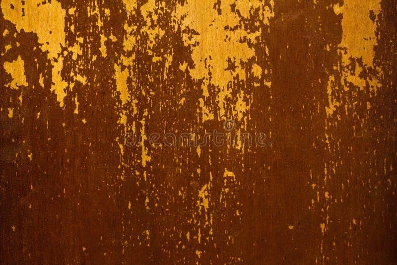 Vecchia superficie laccata con le abrasioni e le crepe immagine stock libera da diritti
