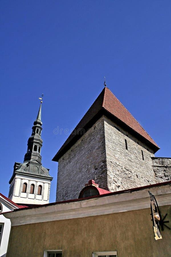 Vecchia Tallinn fotografie stock libere da diritti