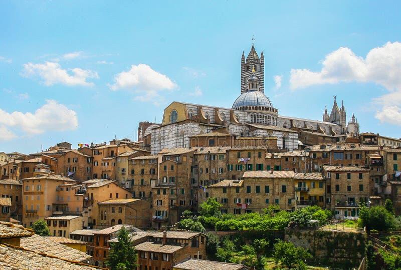 Vecchia terra di Siena fotografia stock libera da diritti