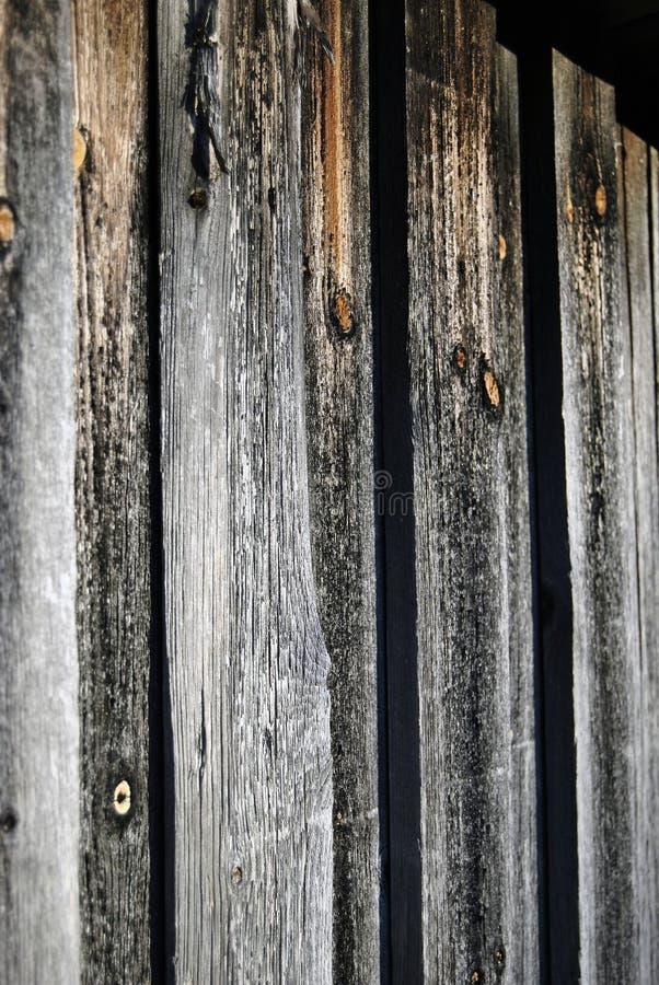 Vecchia tettoia di legno rustica immagini stock