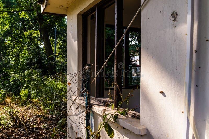 Vecchia una costruzione desolata di storia - Turchia fotografia stock libera da diritti