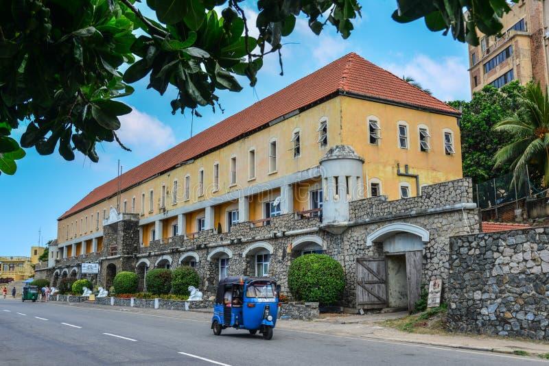 Vecchia via di Colombo, Sri Lanka immagine stock libera da diritti