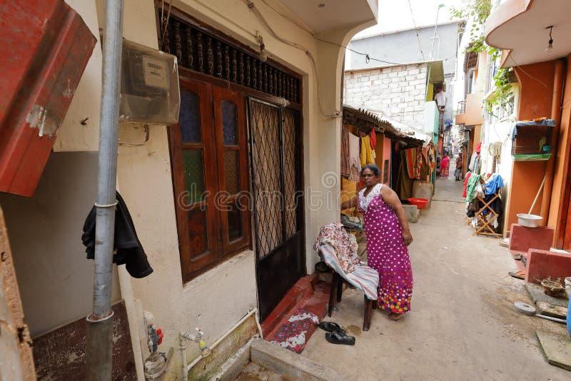 Vecchia vicinanza a Colombo fotografia stock libera da diritti