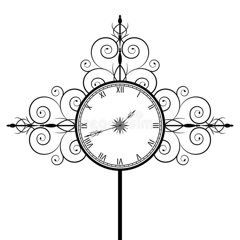 Vecchia vigilanza royalty illustrazione gratis