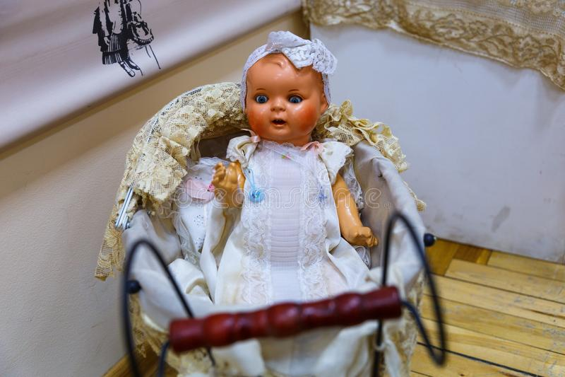 Vecchie bambole fotografia stock