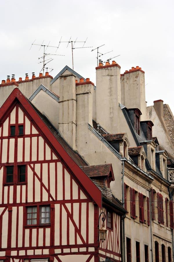 Vecchie case fotografie stock libere da diritti
