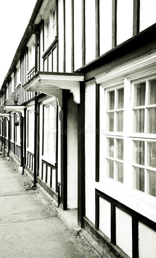 Vecchie case inglesi immagine stock immagine di front for Case inglesi foto