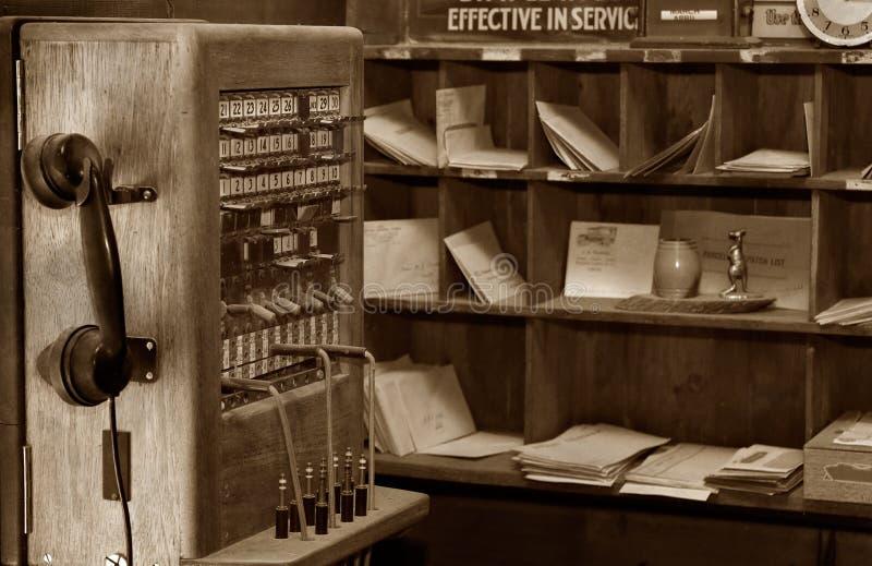 Vecchie comunicazioni del telefono immagine stock libera da diritti
