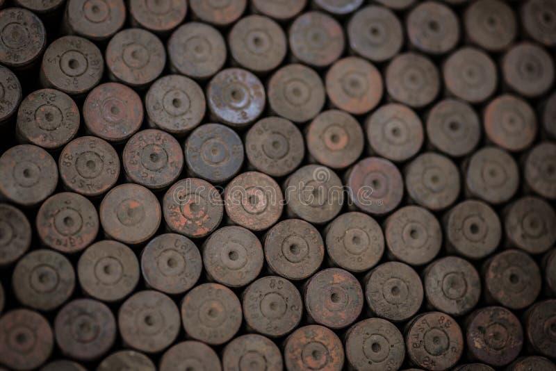 Vecchie coperture tedesche arrugginite usate immagini stock libere da diritti
