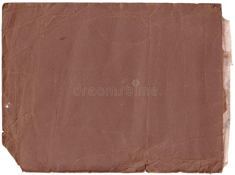 Vecchie esplorazioni dell'album di foto (percorsi di residuo della potatura meccanica di inc) immagine stock