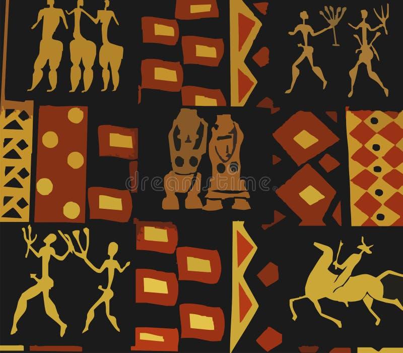 Vecchie illustrazioni di arte royalty illustrazione gratis