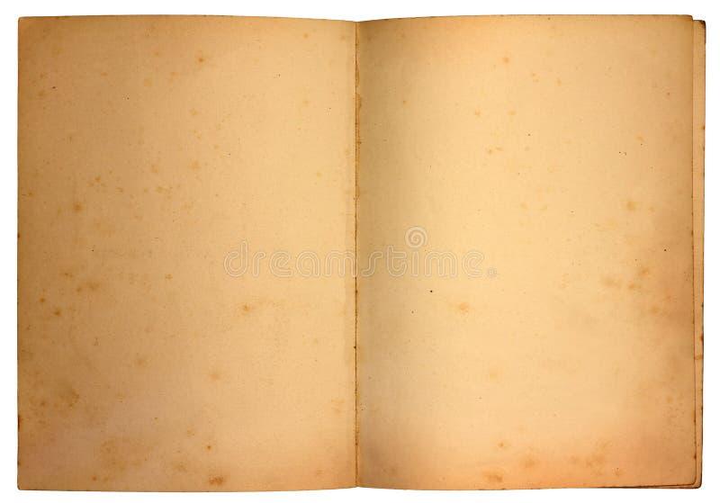 Vecchie pagine fotografia stock