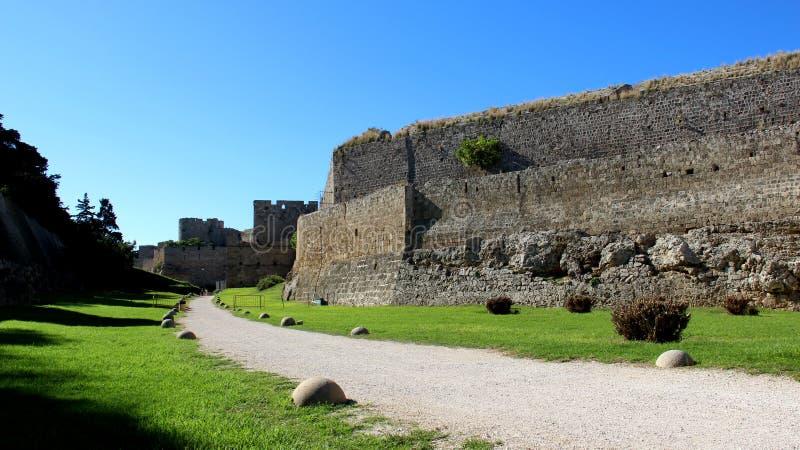 Vecchie pareti e fortezza fotografia stock libera da diritti