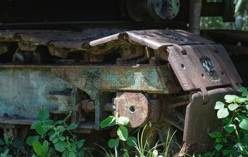 Vecchie ruote d'acciaio immagine stock