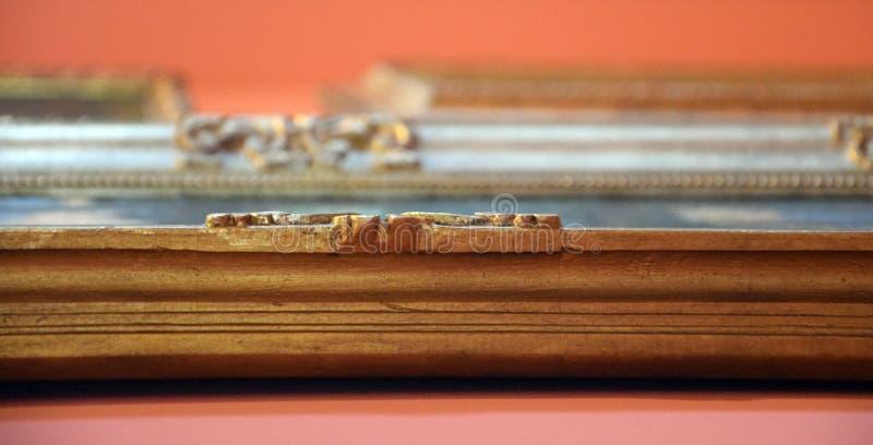 Vecchie strutture della pittura - mostra impressionistica fotografia stock libera da diritti