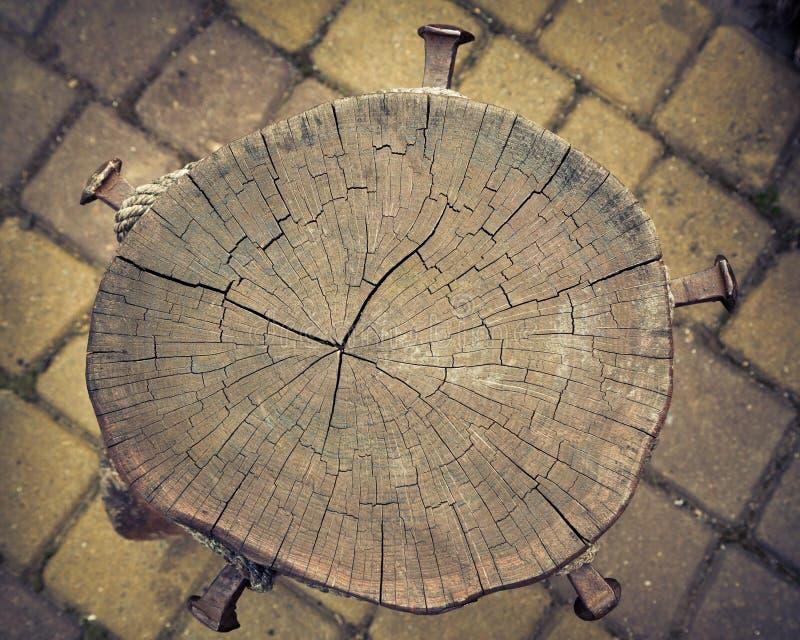 Vecchie strutture di legno naturali fotografia stock libera da diritti