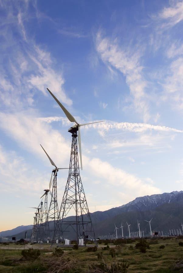 Vecchie turbine di vento