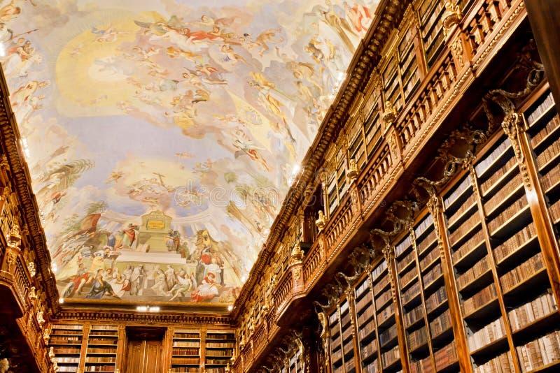 Vecchio Affresco Sul Soffitto In Biblioteca Antica Fotografia Editoriale - Immagine: 41444731