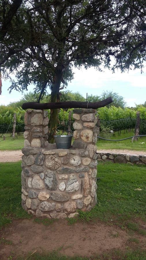Vecchio Aljibe in Merlo, San Luis Argentina fotografia stock