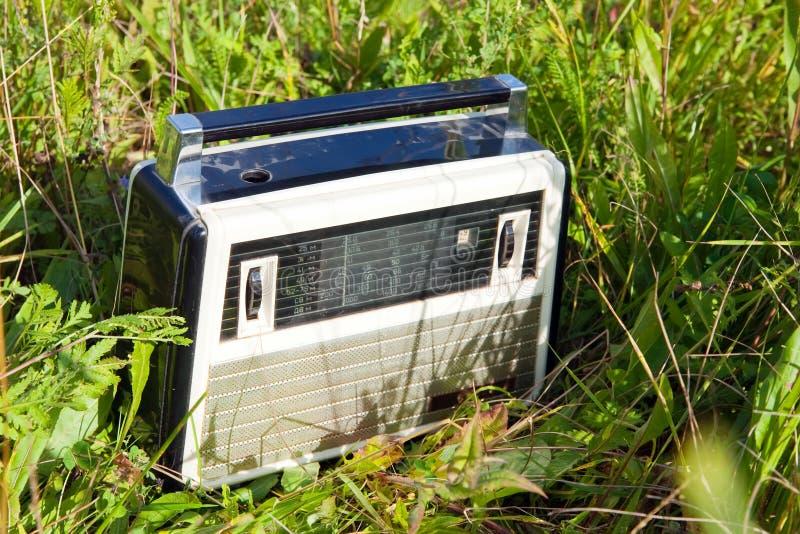 Vecchio apparecchio radioricevente immagine stock libera da diritti