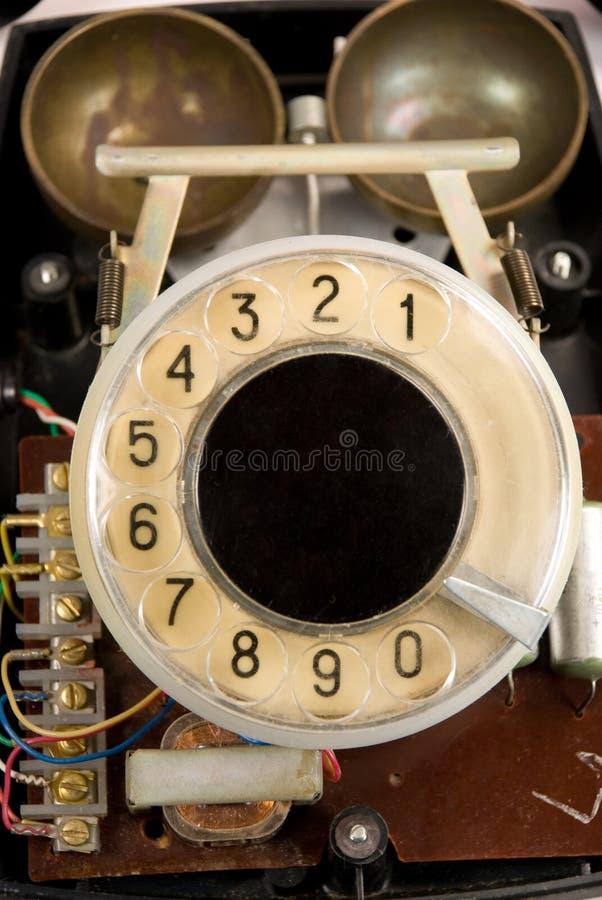 Vecchio apparecchio telefonico fotografia stock libera da diritti