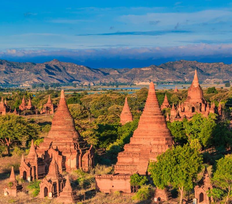 Vecchio Bagan in Bagan-Nyaung U, Myanmar fotografia stock