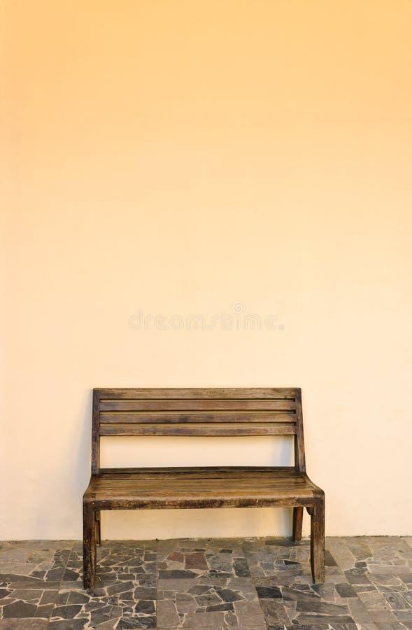 Vecchio banco di legno fotografia stock