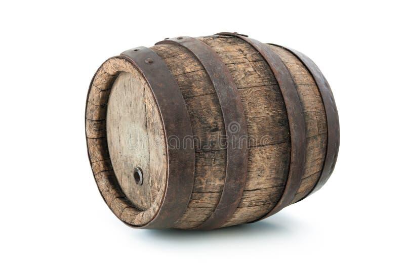 Vecchio barilotto della quercia fotografia stock