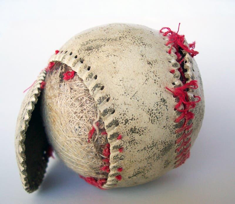 Vecchio baseball immagini stock libere da diritti