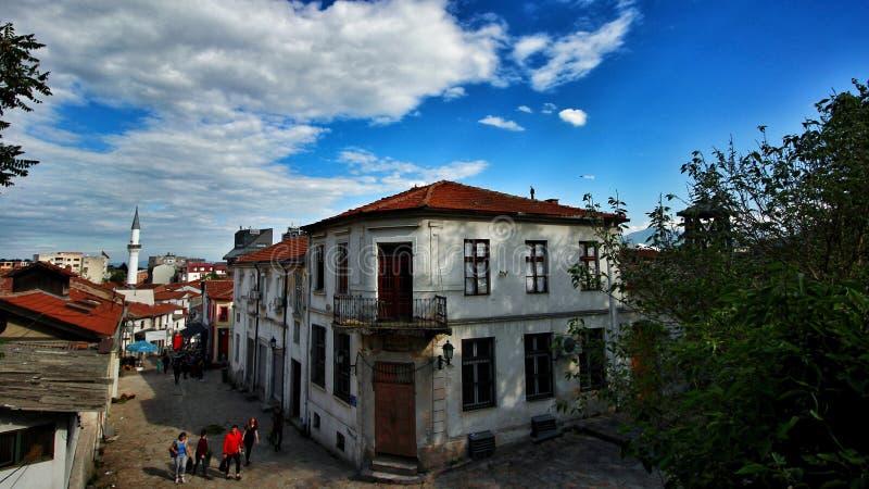Vecchio bazar di Skopje fotografie stock libere da diritti