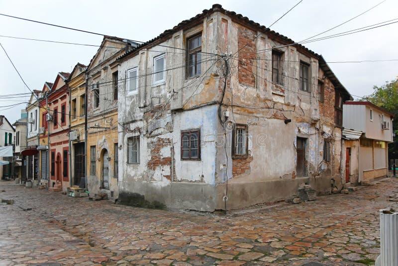 Vecchio bazar a Skopje fotografia stock