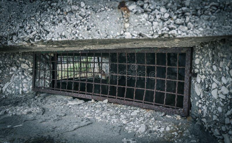 Vecchio bunker WW2 in Croazia immagini stock libere da diritti