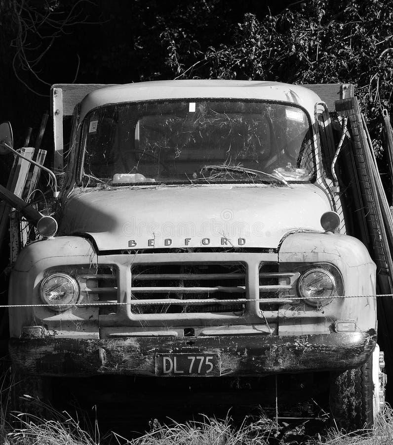 Vecchio camion di Bedford fotografie stock