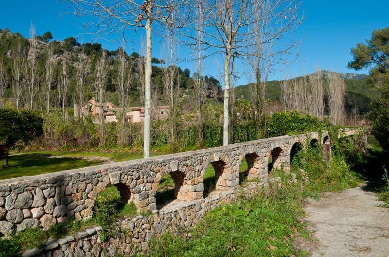 Vecchio canale idrico fotografia stock