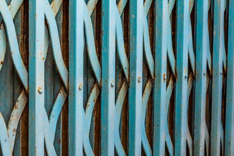 Vecchio cancello del ferro fotografia stock libera da diritti