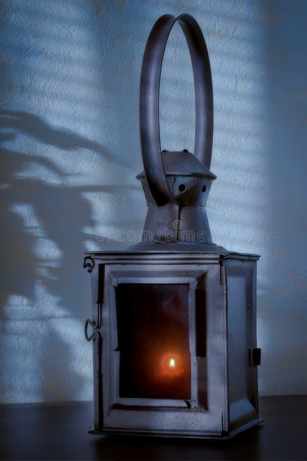 Vecchio candeliere fotografia stock