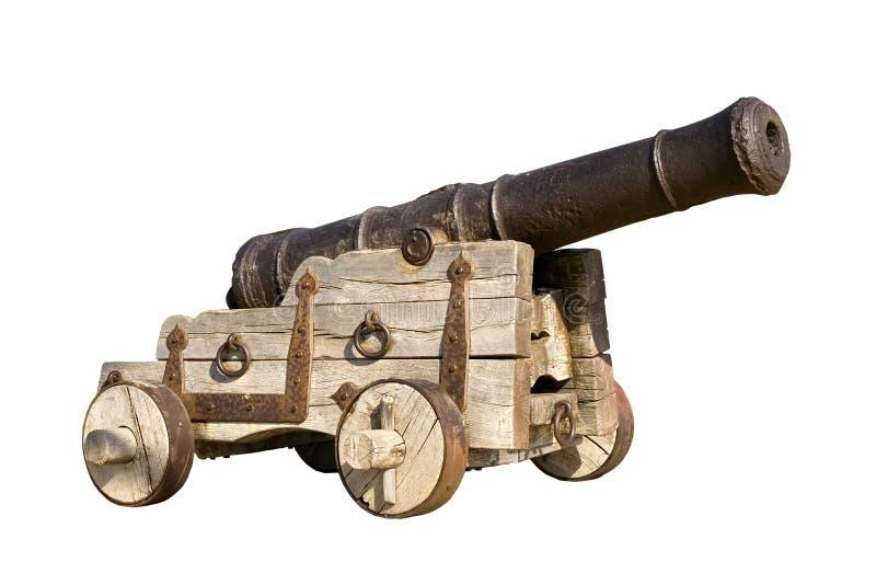 Vecchio cannone immagine stock