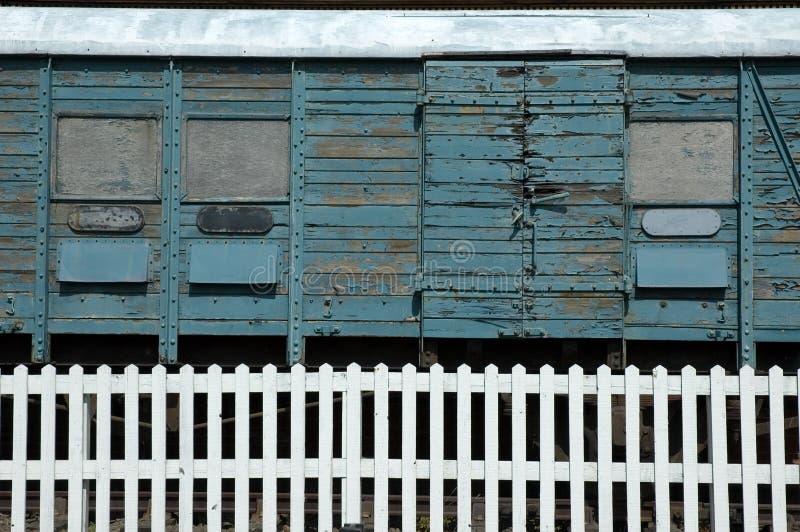 Vecchio carrello del treno immagine stock libera da diritti