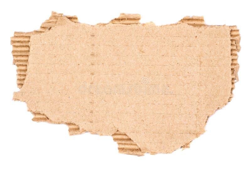 Vecchio cartone strutturato fotografia stock libera da diritti