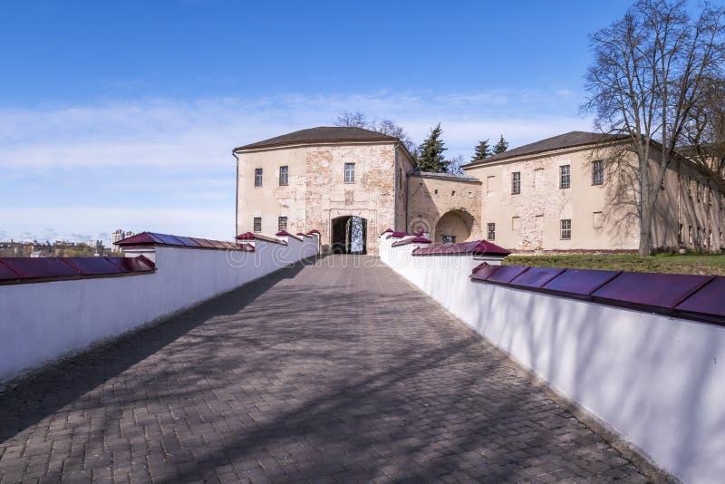 Vecchio castello di Grodno immagine stock