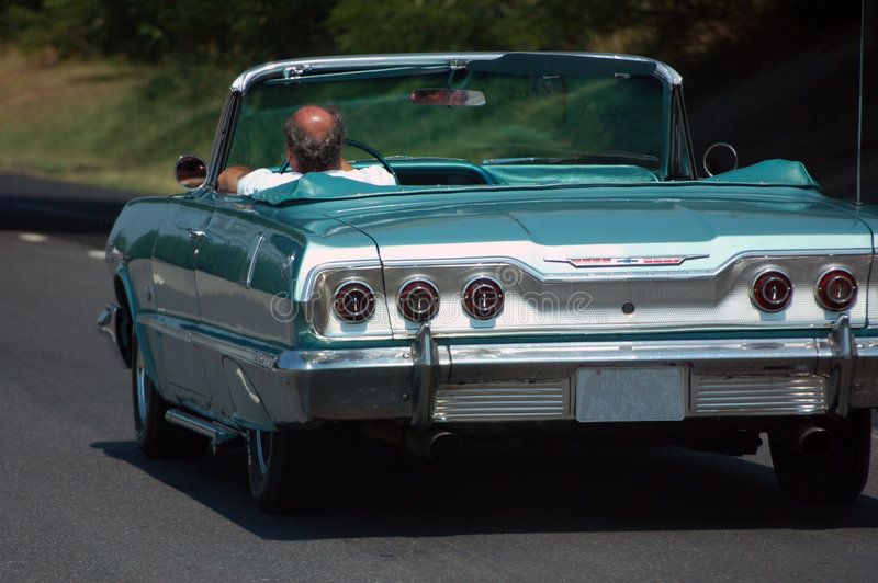 Vecchio Chevy immagini stock libere da diritti